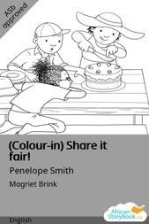 (Colour-in) Share it fair!