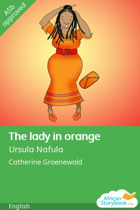 The lady in orange