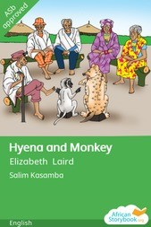 Hyena and Monkey