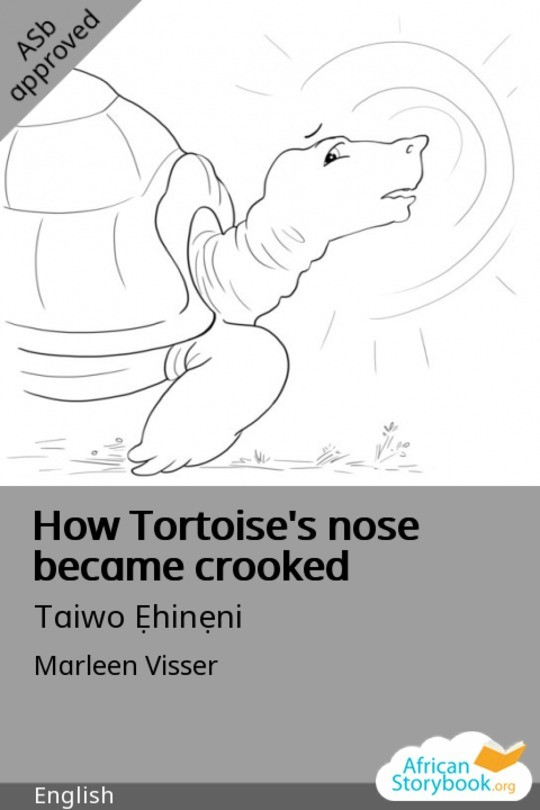How Tortoise's nose became crooked