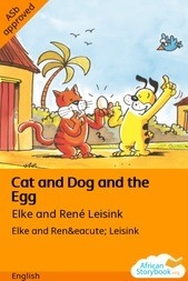 Cat and Dog and the Egg