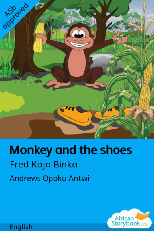 Monkey and the shoes