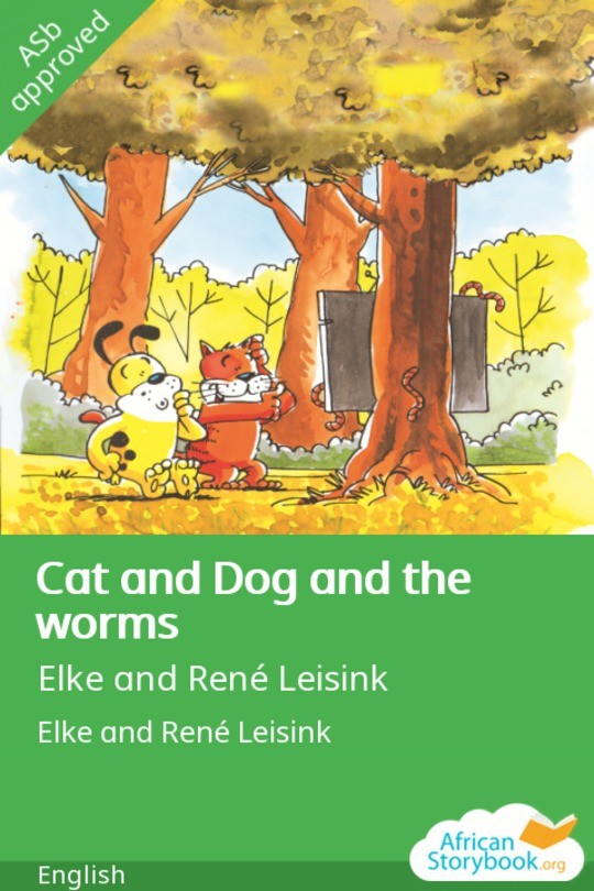 Cat and Dog and the worms