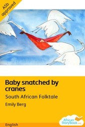 Baby snatched by cranes