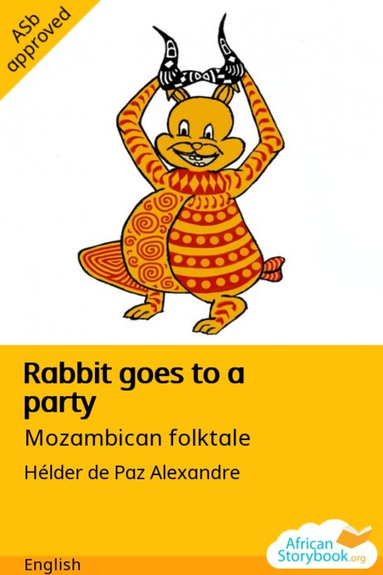 Rabbit goes to a party