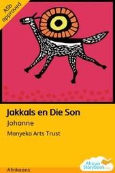 Jakkals en Die Son