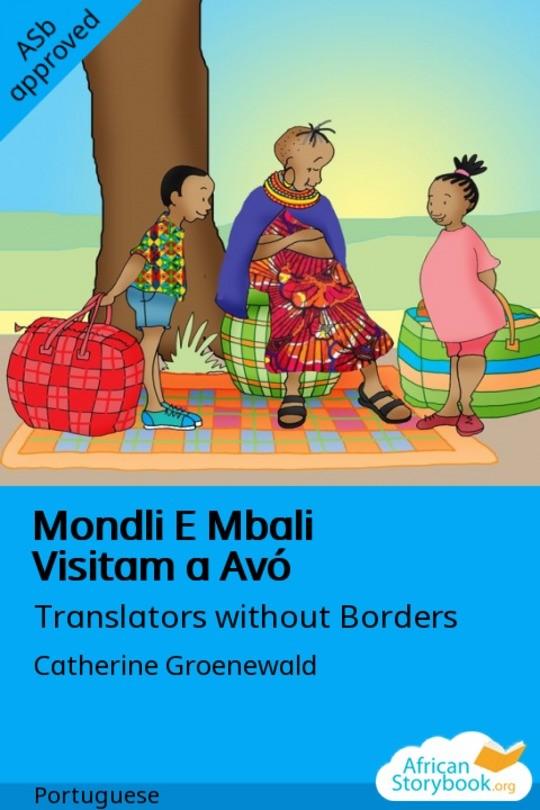 Mondli E Mbali Visitam a Avó