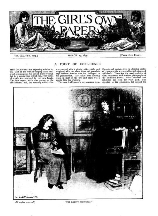 The Girl's Own Paper, Vol. XX. No. 1004, March 25, 1899
