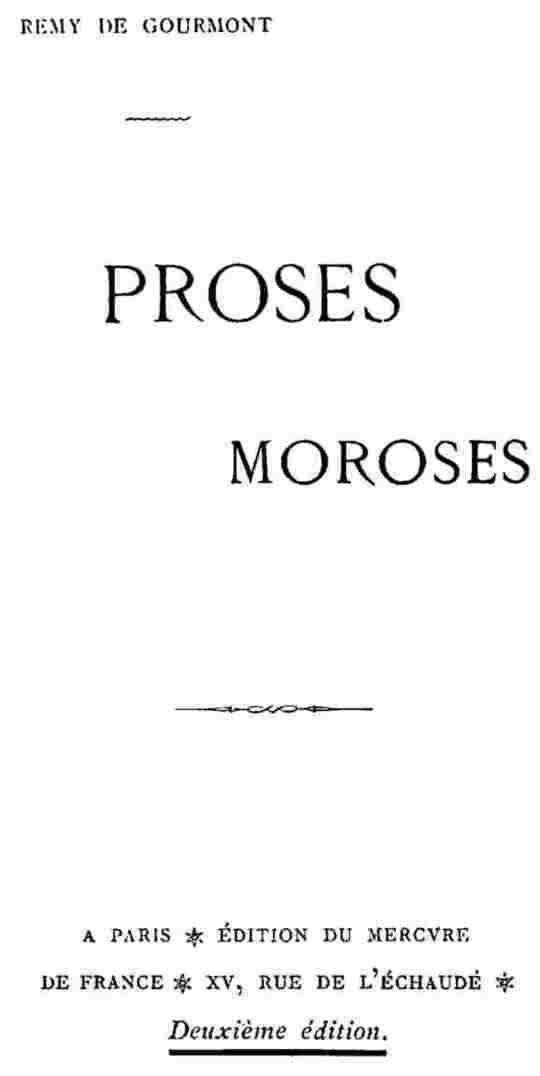 Proses moroses