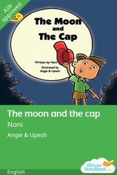 The moon and the cap