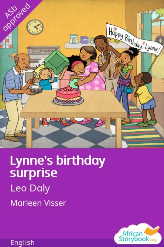 Lynne's birthday surprise
