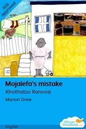 Mojalefa's mistake