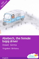 Abebech, the female bajaj driver