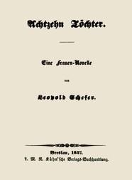 Achtzehn Töchter Eine Frauen-Novelle