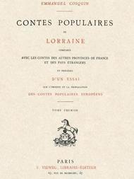 Contes populaires de Lorraine, comparés avec les contes des autres provinces de France et des pays étrangers, volume 1 (of 2)