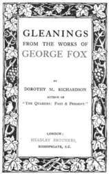 Gleanings from the Works of George Fox