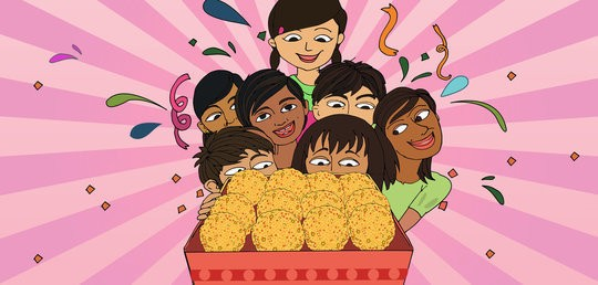 It's a Laddoo Party!