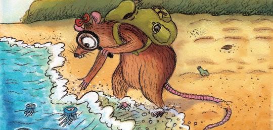 Miss Bandicota Bengalensis Digs Up the Seashore