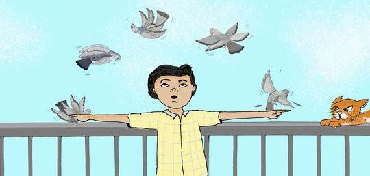 Eyad's Pigeons