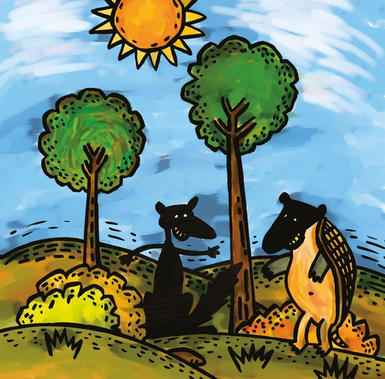 The Quirquincho and the Fox - A Folktale from Argentina