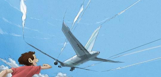 Raju's First Flight