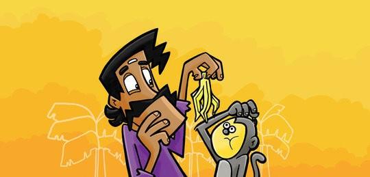 Sringeri Srinivas Learns to Laugh