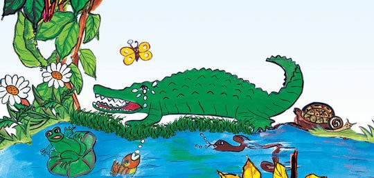 Sniffles, the Crocodile and Punch, the Butterfly