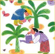 The Magic Powder - A Folktale from Myanmar