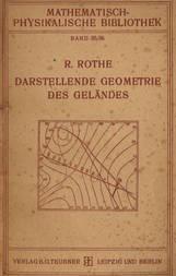 Darstellende Geometrie des Geländes und verwandte Anwendungen der Methode der kotierten Projektionen