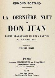 La dernière nuit de Don Juan