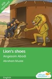 Lion's shoes