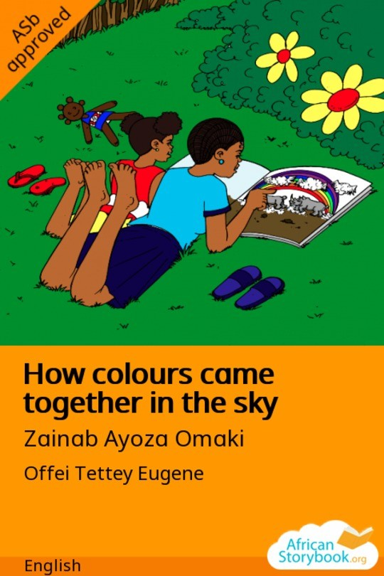 How colours came together in the sky