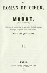 Les aventures du jeune Comte Potowski, Vol. 2 (of 2) Un roman de cœur par Marat, l'ami du peuple