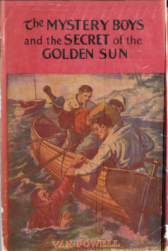 The Mystery Boys and the Secret of the Golden Sun