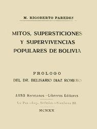 Mitos, supersticiones y supervivencias populares de Bolivia
