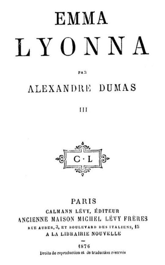 La San-Felice, Tome 07, Emma Lyonna, tome 3