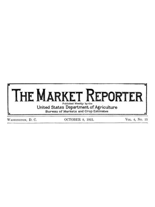 The Market Reporter Vol. 4, No. 15