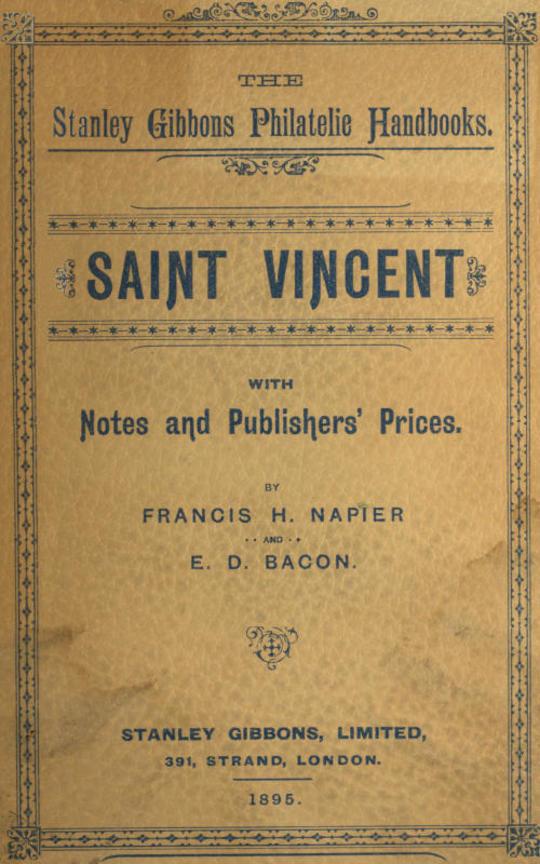The Stanley Gibbons Philatelic Handbooks: Saint Vincent