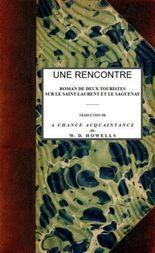 Une rencontre roman de deux touristes sur le Saint-Laurent et le Saguenay