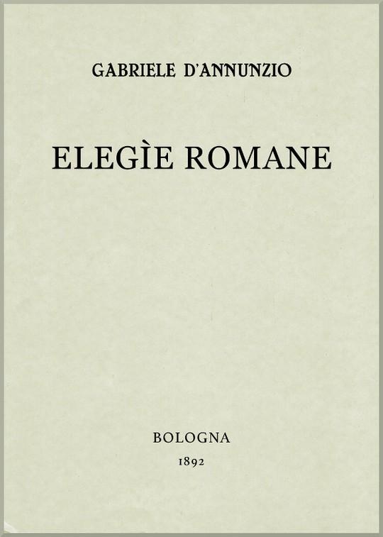 Elegìe Romane