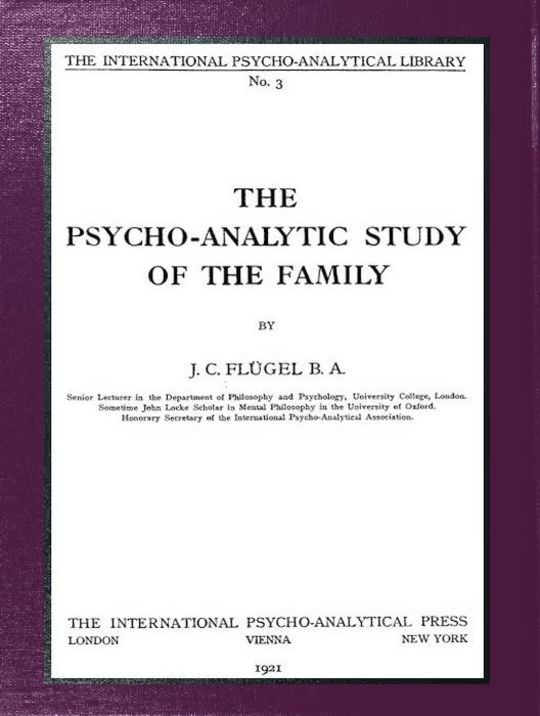 The psycho-analytic study of the family