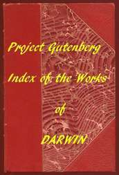 Index of the Project Gutenberg Works of Charles Darwin