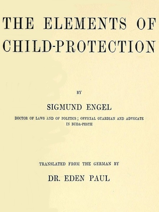 The Elements of Child-protection