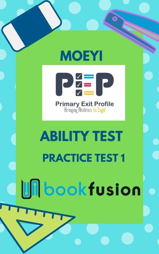 PEP Ability Test: Practice Questions