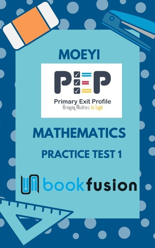 PEP Mathematics : Practice Test 1