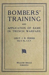 Bombers' Training and Application of Same in Trench Warfare