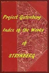 Index of the Project Gutenberg Works of August Strindberg