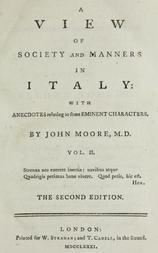 A View of Society and Manners in Italy, Volume II (of 2) With Anecdotes Relating to some Eminent Characters