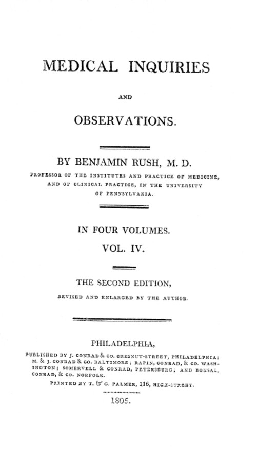 Medical Inquiries and Observations, Vol. IV (of 4) The Second Edition, Revised and Enlarged by the Author