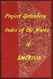 Index of the Project Gutenberg Works of Ralph Waldo Emerson